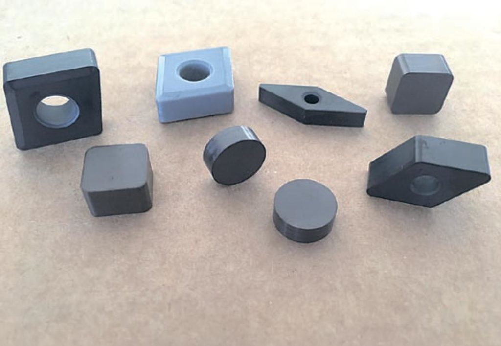 Silicon Nitride. Si3N4 and SiAlON ceramic cutting inserts