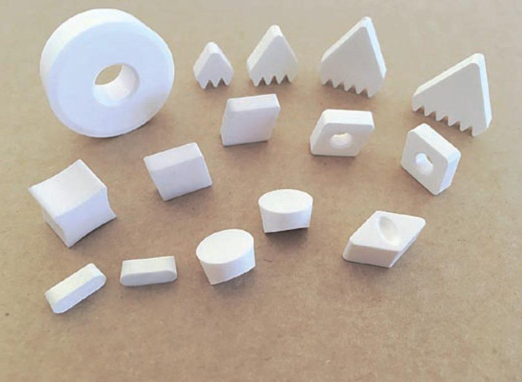 Alumina-zirconia (white ceramics)